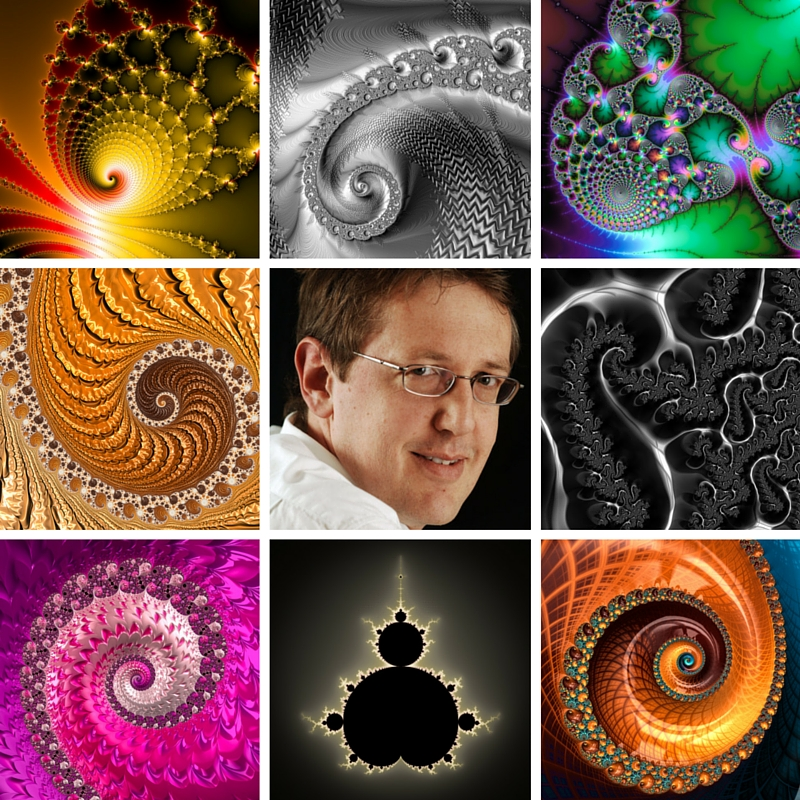 Fractal Art Collage