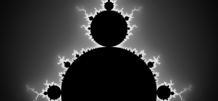 Mandelbrot Set black and white