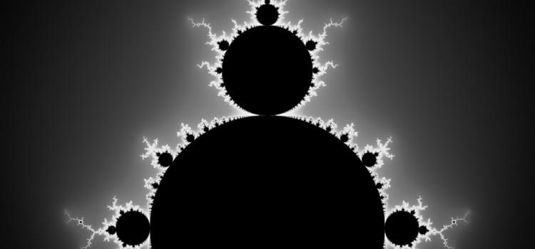 Mandelbrot Set black and white