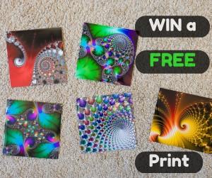 Giveaway - three free Fractal Art Prints