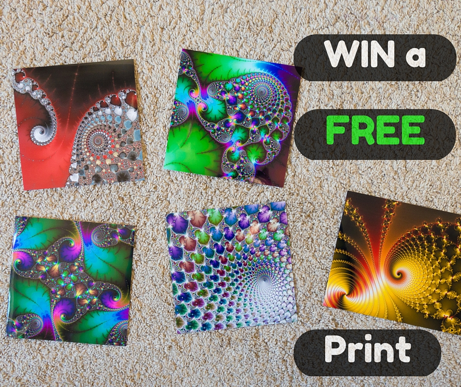 Giveaway - three free Fractal Art Prints