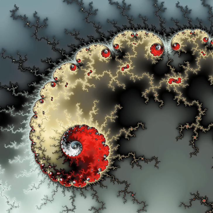 Fractal Spiral full of energy